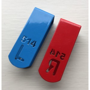 Personalised Radiographer set X-ray Markers Tablets & Clips