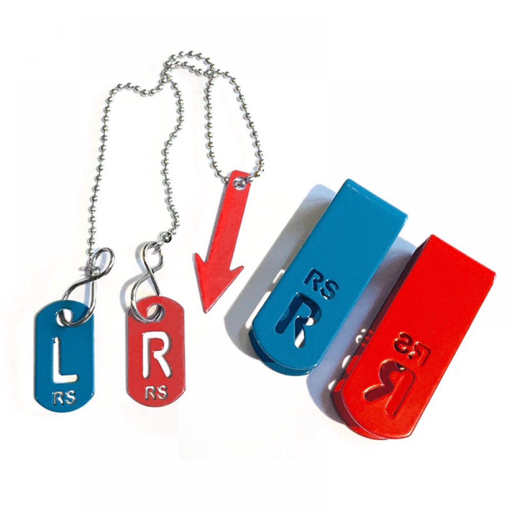 Personalised Radiographer Set X Ray Markers Tablets Clips